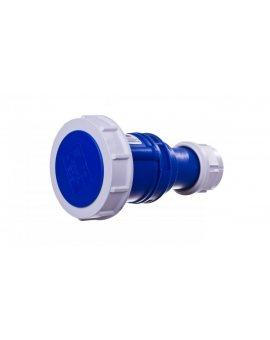 Gniazdo przenośne 16A 3P 230V niebieskie IP67 SHARK 2132-6