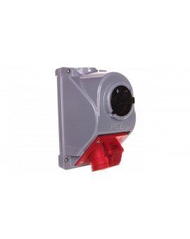 Gniazdo stałe z wyłącznikiem 0-1 16A 4P 400V IP44 COMBO-POL 96061440W