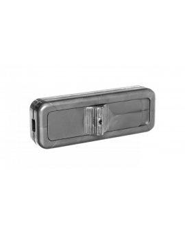 Wyłącznik przelotowy 2, 5A/250V srebrny WSR-940-SRB YNS10000422