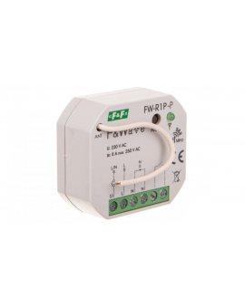 Radiowy pojedyńczy przekaźnik bistabilny - montaż P/t 85-265V AC/DC multifunkcyjny FW-R1P-P