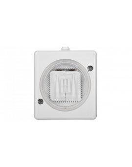 TROL Łącznik hermetyczny świecznikowy IP44 biały 140405