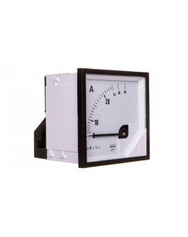 Amperomierz analogowy tablicowy 25/50A 72x72mm IP50 C3 K=90 st. EA17N F21000000000