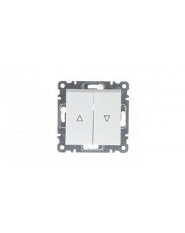 LUMINA2 Przycisk żaluzjowy biały WL0320