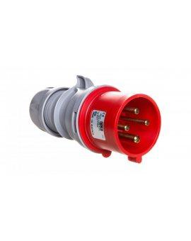 Wtyczka przenośna 32A 4P 400V czerwona IP44 TURBO SHARK 024-6TT