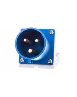 Wtyczka odbiornikowa 32A 3P 230V niebieska IP44 523-6