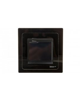 Termostat DEVIreg Touch 230V 16A 5-45°C IP21 czarny 140F1069