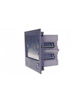 Simon Connect Puszka SF podłogowa podwójna 4xK45 + SM202/9 szara SF210/1