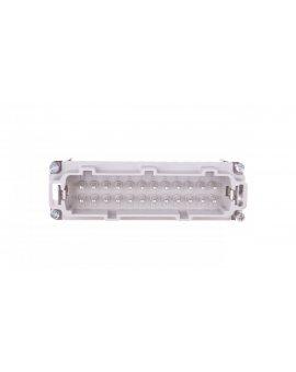 Wkład złącza 24P+PE męski 16A 500V EPIC H-BE 24 SS 10196100