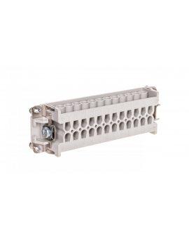 Wkład złącza 24P+PE żeński 16A 500V EPIC H-BE 24 BS 10205000