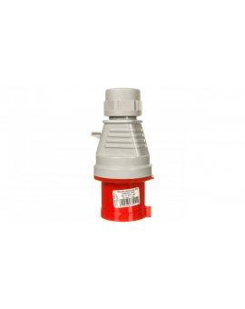 Wtyczka izolacyjna przenośna 32A 400V 4P IP44 /szybkozłączne/ 3647-326
