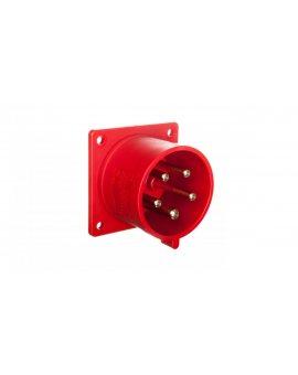 Wtyczka tablicowa 32A 5P 400V czerwona IP44 625-6f7