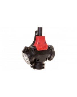 Rozgałęźnik jednofazowy potrójny gumowy SCHUKO 2P+Z VDE 10/16A 230V /pełna guma/ TAURUS 25322-s