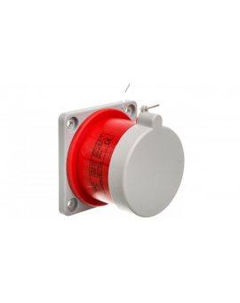 Wtyczka tablicowa prosta 32A 3P+N+Z 400V czerwona IP44 WTP 32 5 z uszczelką 922035