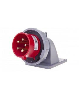 Wtyczka tablicowa kątowa 32A 5P 400V czerwona IP44 TURBO TWIST 777252-6tt