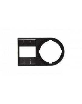 Tabliczka opisowa 50x30mm czarna prostokątna bez etykiety M22S-ST-X 216392 /25szt./