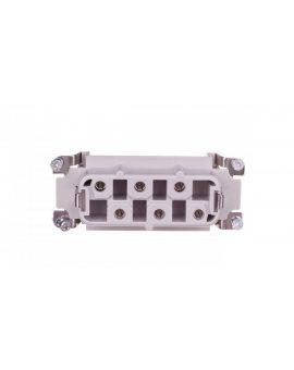 Wklad złącza 6P+PE żeński 35A 500V EPIC H-BS 6 BS 1-6 10171000
