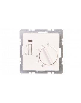 Q.1 Regulator temperatury 1Z element centralny, diodą, biały, aksamit 20306089