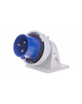 Wtyczka tablicowa kątowa 32A 3P 230V niebieska IP67 TWIST 777232-6v