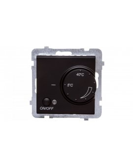 SONATA Regulator temperatury /czujnik podłogowy/ czarny metalik RTP-1R/m/33