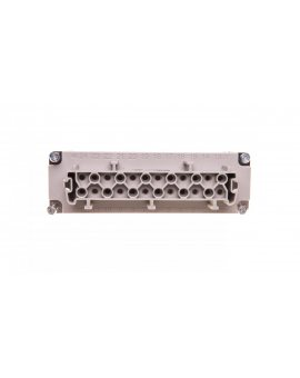 Wklad złącza 24P+PE żeński 16A 500V EPIC H-BE 24 BS 10197100