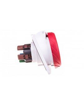 Gniazdo tablicowe 5P 16A 400V czerwone IP67 PKY16F735