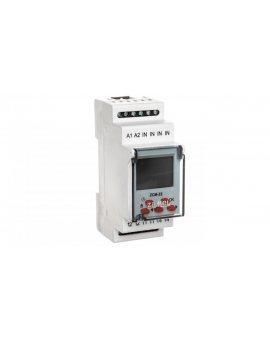 Programator czasowy cyfrowy jednokanałowy 16A 230V AC tygodniowo-roczny ZCM-22 EXT10000188