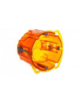 Batibox Puszka podtynkowa 67mm 67x50mm pomarańczowa 080121