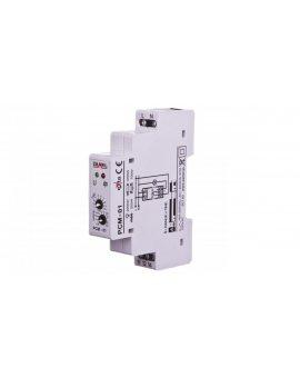 Przekaźnik czasowy 1-funkcyjny 1NO/NC 16A 0, 1sek-10dni 230V AC PCM-01 EXT10000072