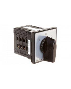 Łącznik krzywkowy sieć-agregat 4P 25A do wbudowania SK25-4.8396\P03