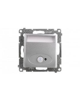 Simon 54 Oprawa oświetleniowa LED 14V z czujnikiem ruchu (0, 42W) srebrny mat DOSC14.01/43