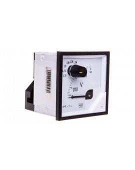 Woltomierz z przełącznikiem N E615 500V pozycja pracy C3 K=90 st. bez atestu KJ EP27NE6150000