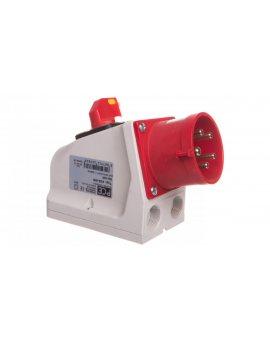 Wtyczka odbiornikowa KOMBI 32A 5P 400V czerwona IP44 625-6W