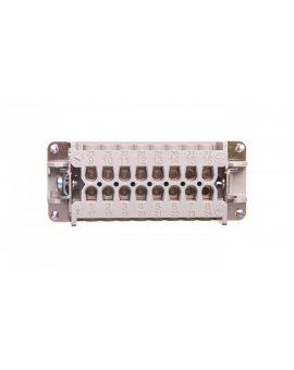 Wkład złącza 16P+PE żeński 16A 500V EPIC H-BE 16 BS 10195100