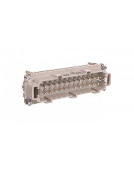 Wkład złącza 24P+PE męski 16A 500V EPIC H-BE 24 SS 10204000