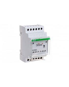 F&Home Radio Przekaźnik trzykanałowy z nadajnikiem trzykanałowym na szynę DIN LongRange rH-R3S3-LR