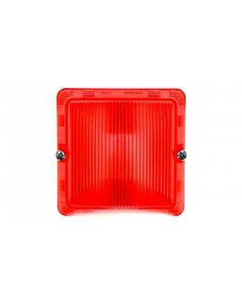PLEXO55 Klosz do żarówek czerwony 069591