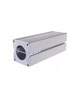 Simon Connect Minikolumna ALK dwustronna 8xK45 anodyzowane aluminium ALK224/8