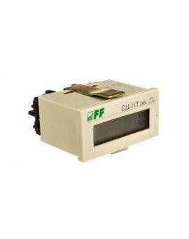 Licznik impulsów 4-30V DC 8 znaków cyfrowy tablicowy 48x24mm CLI-11T-24V