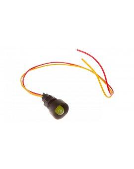 Lampka sygnalizacyjna średnica klosza 10mm żółta 12-24V AC/DC KLP 10Y/24V 84410004