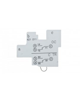 Styk pomocniczy lub alarmowy 1P do DPX3 CTR-OC 421011