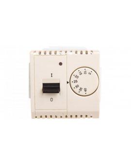 Simon Basic Regulator temperatury z czujnikiem wewnętrznym 5-40°C beżowy BMRT10w.02/12