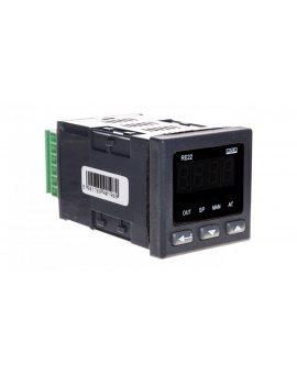 Regulator temperatury wejście uniwersalne temperaturowe wyjście przekaźnikowe zasilanie 230V AC bez atestu KJ RE22 111000