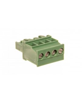 Wtyk śrubowy do płytek drukowanych 4P zielony MVSTBR 2, 5/ 4-ST-5, 08 1792265
