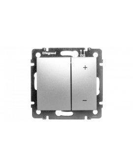 VALENA Ściemniacz przyciskowy 40-600W aluminium 770274