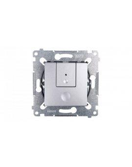 Simon 54 Ściemniacz przyciskowy 40-300W srebrny mat D75310.01/43
