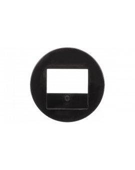 Berker R.1/R.3 Element centralny do gniazda TAE i głośnikowego czarny 10382045