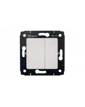CARIVA Ściemniacz przyciskowy 40-600VA kremowy 773715