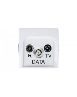 Simon Basic Gniazdo antenowe RD/TV/DATA białe BMAD.01/11
