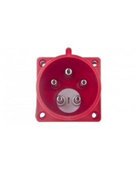 Wtyczka tablicowa (zwrotnica faz) 32A 5P 400V czerwona IP44 8625-6