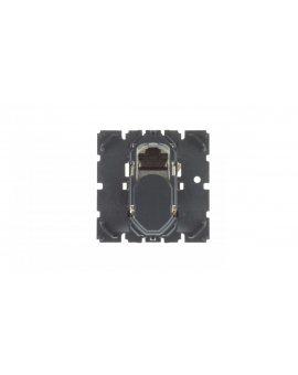 CELIANE Gniazdo komputerowe pojedyncze RJ45 STP kat.6 czarne 067346